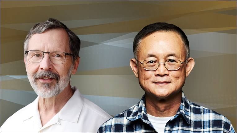 Image of Ed Catmull and Richard Chuang