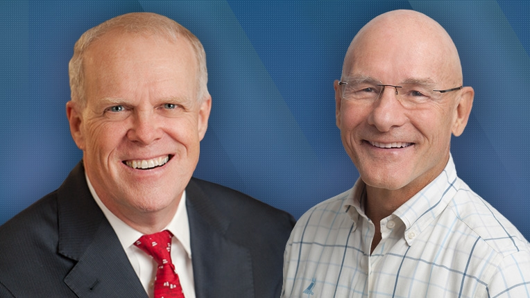 Image of John Hennessy and David Patterson